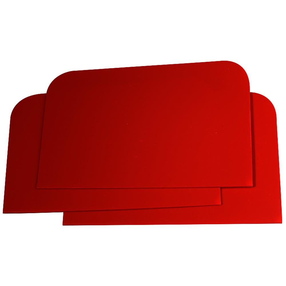 plastikspachtel kunststoffspachtelklinge 115x77mm rot. Black Bedroom Furniture Sets. Home Design Ideas