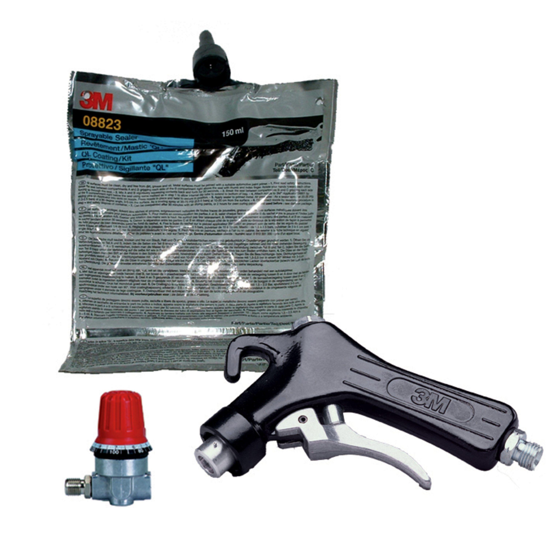 3m druckluftpistole f r ql nahtabdichtung autolack und. Black Bedroom Furniture Sets. Home Design Ideas